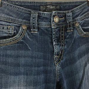 Silver Suki Surplus Jeans Sz 28/32